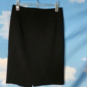 Ann Taylor- Black Wool Skirt size 4